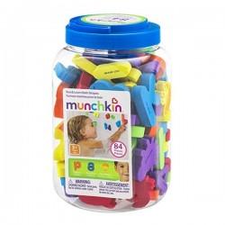 Munchkin Bath Letters & Numbers  - 84 pcs