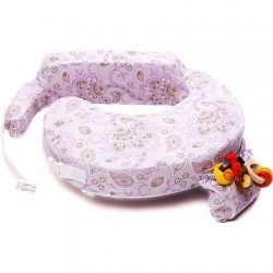 My Brest Friend Original Nursing Pillow - Petal Paisley (846)