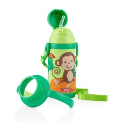 Nuby Stainless Steel Insulated Cup - Green