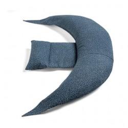 Nuvita DreamWizard 12 in 1 Pregnancy And Breastfeeding Pillow - Deep Blue