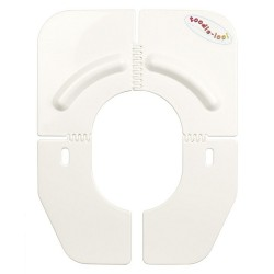 Toodle loo foldable portable toilet cover