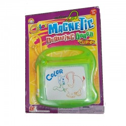 Clip on color magnetic drawing board