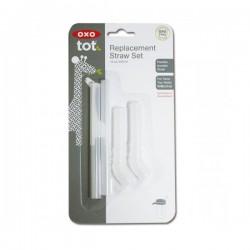 OXO tot Replacement Straw Set (12 oz) -  2 pcs