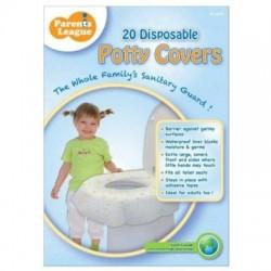 Parents League Disposable Potty Covers - 20 pcs