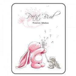 Petit Bird Bamboo Fiber Baby Changing Mat - Rabbit