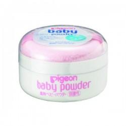 Pigeon baby powder with powder puff