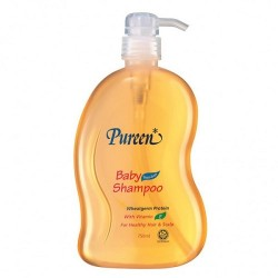 Pureen Baby Shampoo with Wheatgerm Protein and Vitamin E