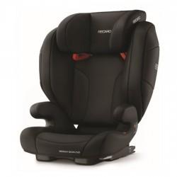 Recaro Monza Nova Evo SeatFix Carseat - Deep Black (88012250050)