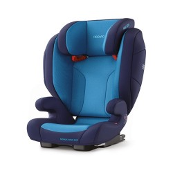 Recaro Monza Nova Evo SeatFix Carseat - Xeon Blue