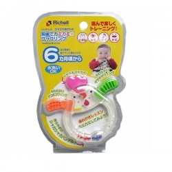 Richell Chick Teether & Rattle