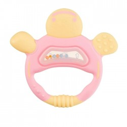 Richell Teether with case - Pink