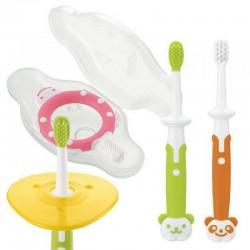 Richell Training Toothbrush Set