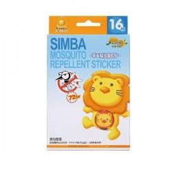 Simba Mosquito Repellent Sticker - 16 pcs