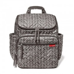 Skip Hop Forma Backpack - Grey Feather