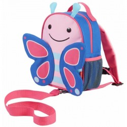 Skip Hop Zoo-let Mini Backpack With Rein - Butterfly