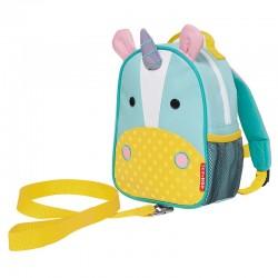 Skip Hop Zoo-let Mini Backpack With Rein - Unicorn