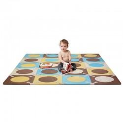 Skip Hop Playspot Foam Floor Tiles - Blue/ Gold