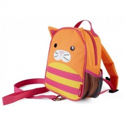 Skip Hop Zoo-let Mini Backpack With Rein - Cat