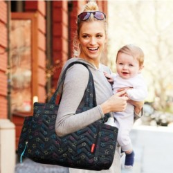Skip Hop Five Star Mommy Bag Tote - Star Multi
