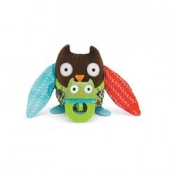 Skip Hop Hug & Hide Owl  Stroller Toys