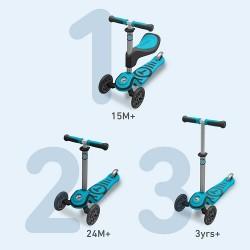SmarTrike T1 3 in 1 Scooter  - Blue