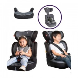 Snapkis Steps 1-12 Carseat - Deep Grey