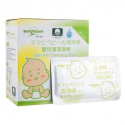 Softtouch Baby Wet Cleansing Wipes