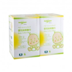 SoftTouch Baby Cotton Wipe