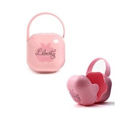 Suavinex Liberty Soother Holder  - Pink
