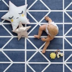 toddlekind Prettier Playmat - Nordic Petroleum (6 Tiles & 12 Edging Borders)