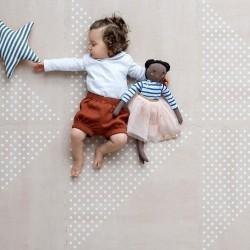 toddlekind Prettier Playmat - Earth Clay (6 Tiles & 12 Edging Borders)