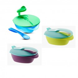 Tommee Tippee Feeding bowl with spoon and leakproof lid