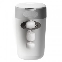 Tommee Tippee Twsit & Click Advanced Nappy Disposable System - White