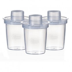 Tommee Tippee Closer to Nature Milk Powder Dispenser (Pack of 3)