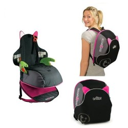 Trunki BoostApak car seat and back Pack - Pink