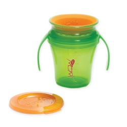 WOW Baby Translucent Spill Free Training Cup - Green