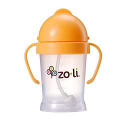 Zoli Bot Straw Sippy Cup ( 6 oz) - Orange