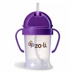 Zoli Bot Straw Sippy Cup ( 6 oz) - Purple