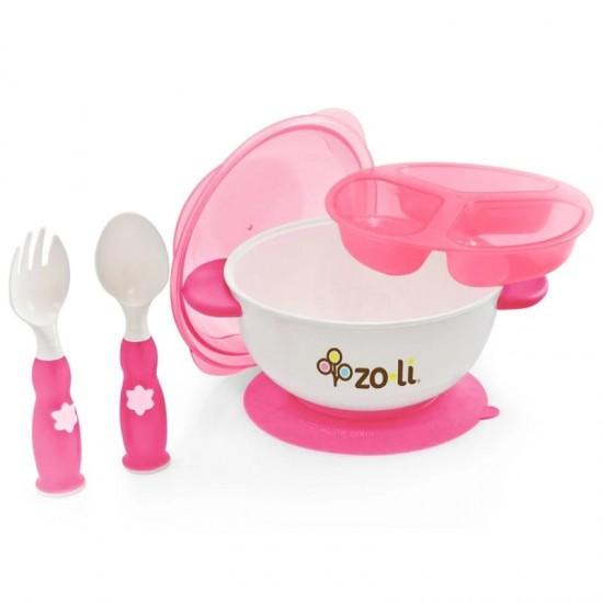 Zoli Stuck Suction Bowl Feeding Set